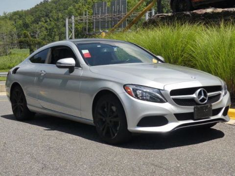 Pre-Owned 2017 Mercedes-Benz C-Class C 300 Coupe